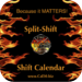 Shift Calendar Split-Shift